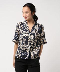 スコッチアンドソーダ SCOTCH & SODA / ハワイアンパネルプリント 半そでシャツ