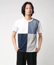 ZERO STAIN プリント切替Tシャツ 汗ジミが目立たない機能 ユニセックスその他2