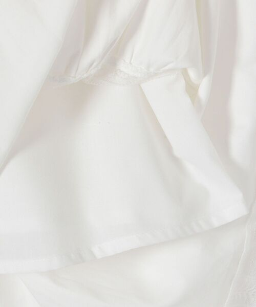 SHIPS(シップス)の「【先行】【WEB限定】【手洗い可能】レースフリルロングワンピース◆(ワンピース)」|詳細画像