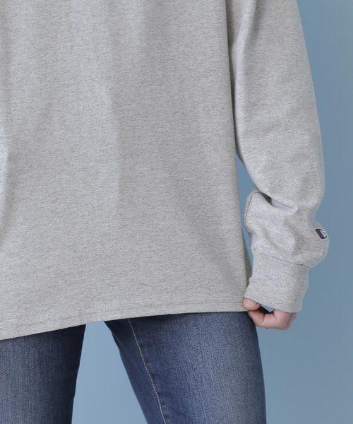 Champion Authentic T-SHIRTS/ チャンピオン コットン Tシャツ Long Sleeve T