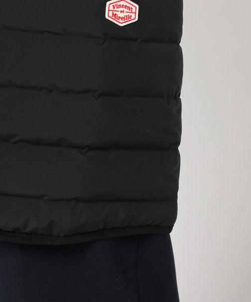 VINCENT ET MIREILLE/ヴァンソン エ ミレイユ  STECHLESS DOWN JACKET COAT