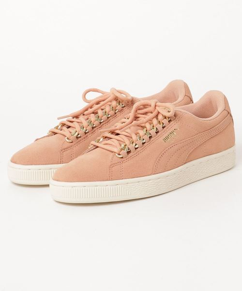 SUEDE CLASSIC X CHAIN WNS (WOMEN)