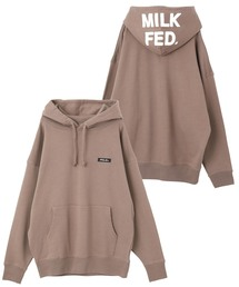 MILKFED.(ミルクフェド)のCHAIN STITCH LOGO BIG SWEAT HOODIE(パーカー)