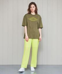 <H>SHEER GATHER PANTS/パンツ