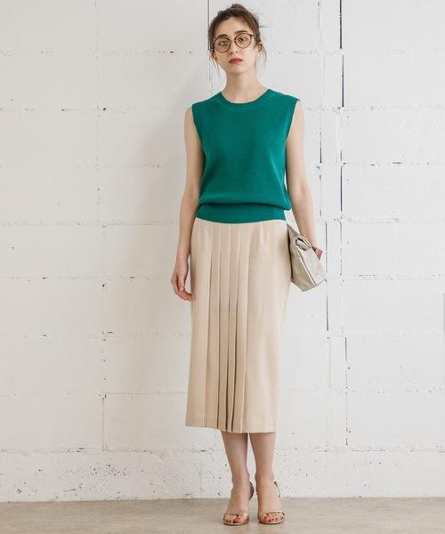 【STYLEBAR】イージーケアセットアップスカート