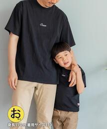 【coen キッズ/ジュニア】コーエンロゴ刺繍Tシャツ