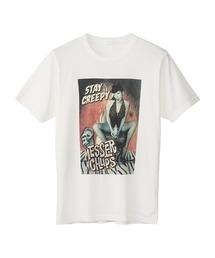 MESSER CHUPS/STAY CREEPY Tシャツホワイト