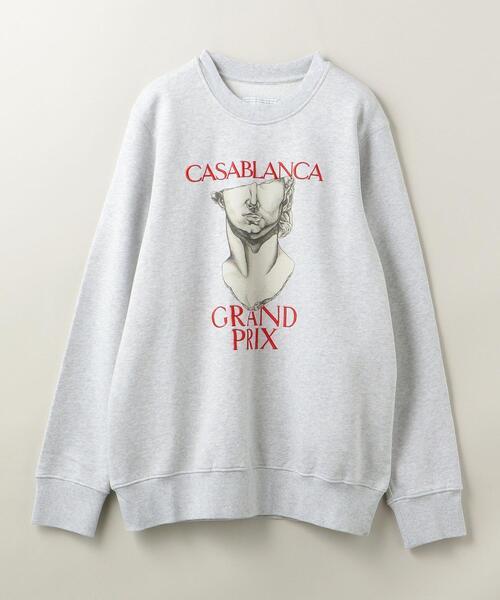 <Casablanca(カサブランカ)> GRAND PRIX EMB/スウェット
