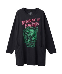 DESTROY ALL MONSTERS /MONSTERS MADNESS ワンピースブラック