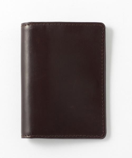 GLENROYAL(グレンロイヤル)の「FOLIO CARD CASE / フォリオカードケース(パスケース)」|ダークブラウン