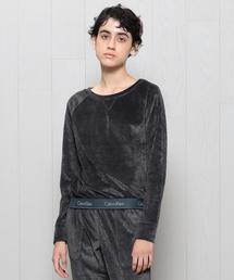 <Calvin Klein>VELOUR SWEAT PULLOVER/ルームウェア.