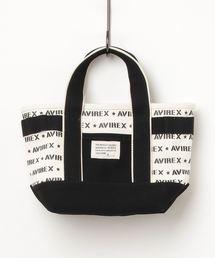 AVIREX(アヴィレックス)の【直営店限定】AVIREX / アヴィレックス/ リピーティングロゴパターン ミニトートバッグ/ LEPEATING LOGOPATTERN MINI TOTE BAG(トートバッグ)