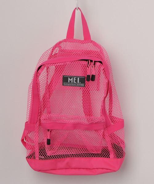 【 MEI / メイ 】 Mesh Pack デイパック リュック