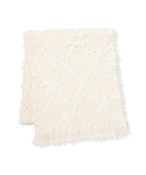 ストルフ スロー(ひざ掛け) 1700×1150 ホワイト