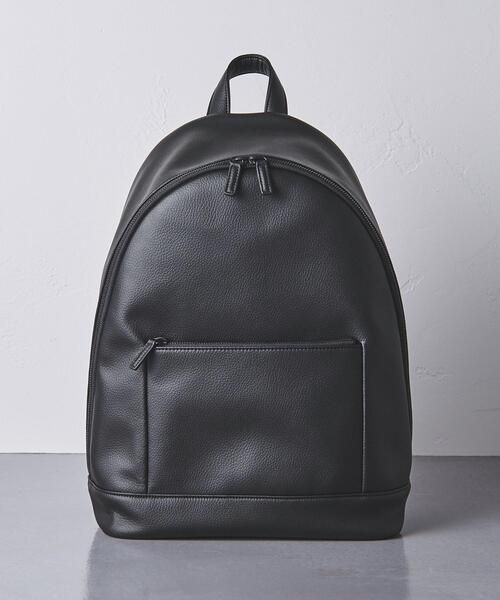 <UNITED ARROWS> Synthetic Leather Ruck†