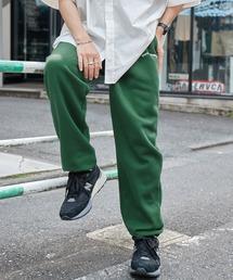 Mark Gonzales/マークゴンザレス MONO-MART別注 アーチロゴ刺繍 裏起毛 バルーンスウェットパンツグリーン