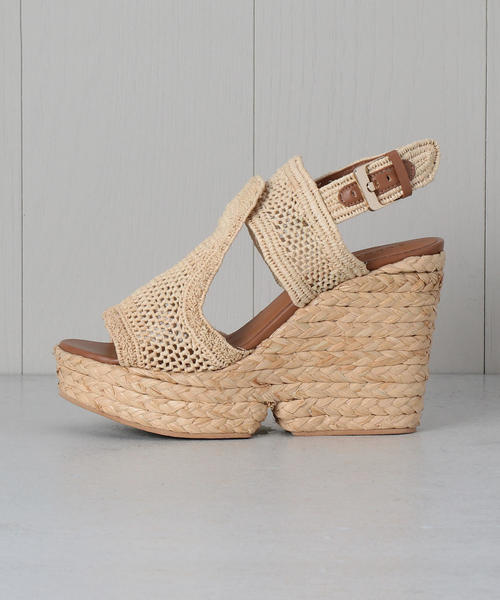 84b58f18b18 商品詳細 - <CLERGERIE>DYPAILLE RAFFIA SANDALS サンダル|OUTLET ...