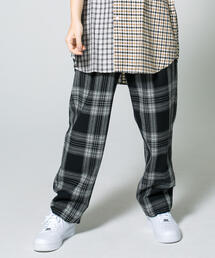 <monkey time> FLANO BLACK OMBRE WIDE 1P EASY PANTS/パンツ