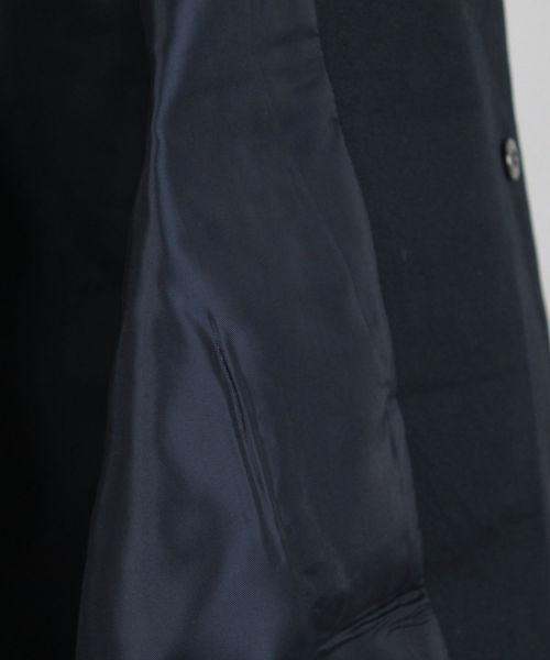 <L&HARMONY / エルアンドハーモニー>クルーネックスナップボタンベスト'Made in Japan'