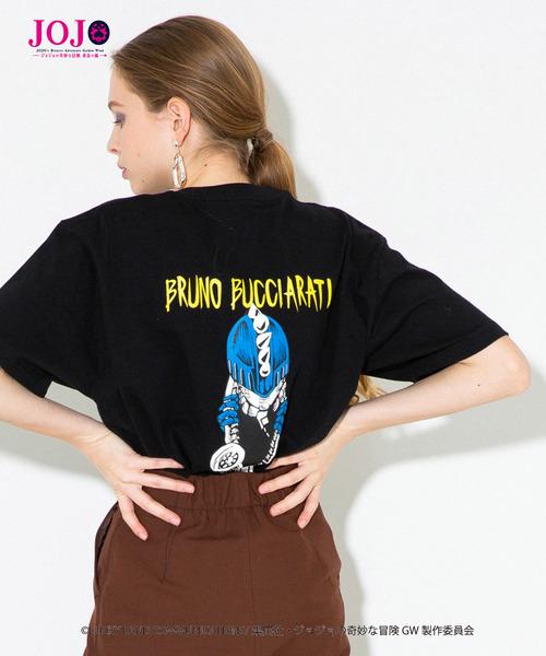【ジョジョの奇妙な冒険】ブローノ・ブチャラティ/エクスクルーシブTシャツ/JOJO