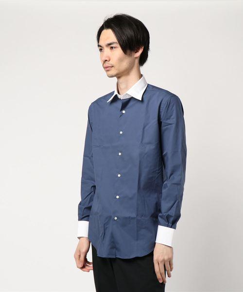 URBAN RESEARCH Tailor セミワイドクレリックシャツ