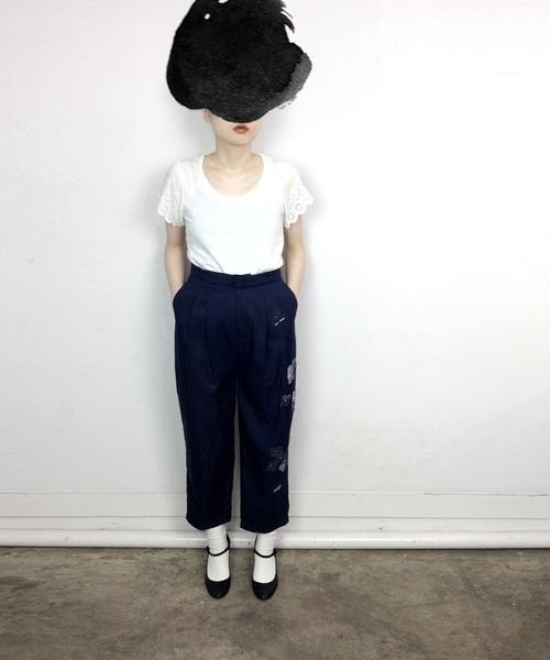 当季大流行 【ブランド古着】パンツ(パンツ)|mudoca(ムドカ)のファッション通販 - USED, 史上最も激安:9ac276ad --- dpu.kalbarprov.go.id