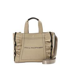 JILL by JILLSTUART(ジルバイジルスチュアート)の◇フリルキャンバストートバッグ(トートバッグ)