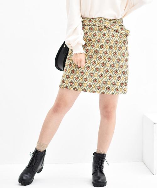 ゴブランミディスカート