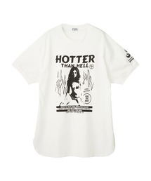 HOTTER THAN HELL ワンピースホワイト