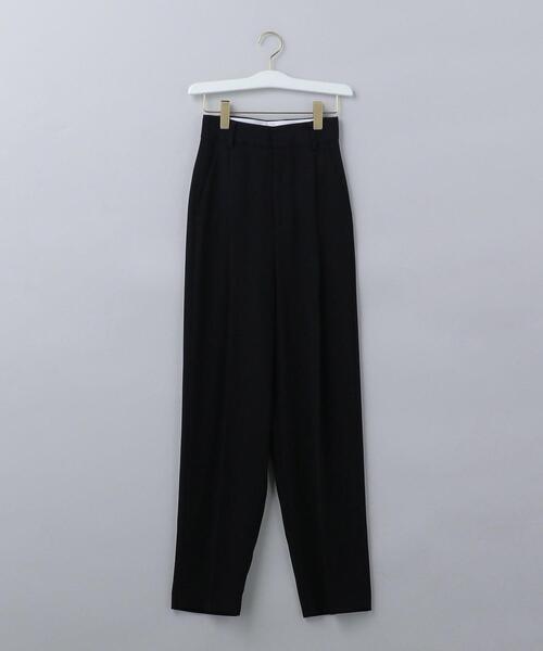 <6(ROKU)>GEORGETTE TUCK PANTS 2/パンツ