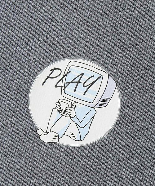 ZIP FIVE(ジップファイブ)の「レトロゲーム機プリント鬼起毛プルパーカー【ユニセックス】【ヘビーオンス】(パーカー)」 詳細画像