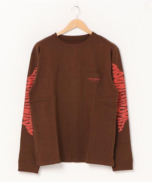 【 MOUNTAIN SMITH / マウンテンスミス 】 Basic MOUNTAIN SMITH Climbing longSleeve T-shirts ロングスリーブ Tシャツ ロンT ポケT