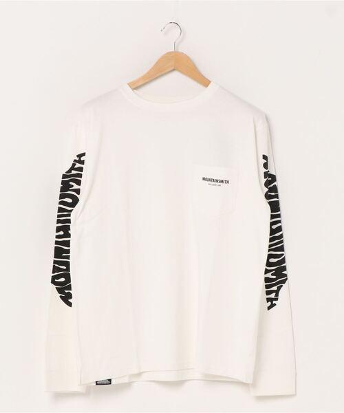 【 MOUNTAIN SMITH / マウンテンスミス 】20AW Basic MOUNTAIN SMITH Climbing longSleeve T-shirts ロングスリーブ Tシャツ ロンT ポケT