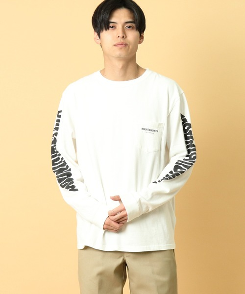 【 MOUNTAIN SMITH / マウンテンスミス 】20AW Basic MOUNTAIN SMITH Climbing longSleeve T-shirts ロングスリーブ Tシャツ ロンT ポケT