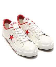 CONVERSE(コンバース)のCONVERSE コンバース ワン スター ジャパン/ ONE STAR J (WHITE/RED) 32346512(スニーカー)