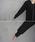 select MOCA(セレクトモカ)の「ワッフルキーネックワンピース/長袖スリットデザインロング丈ワンピース(ワンピース)」|詳細画像