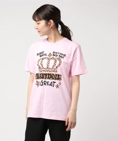 親子お揃い 王冠 ヒョウラクガキ Tシャツ 2293A