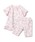 branshes(ブランシェス)の「花柄パジャマ(ルームウェア/パジャマ)」|ピンク