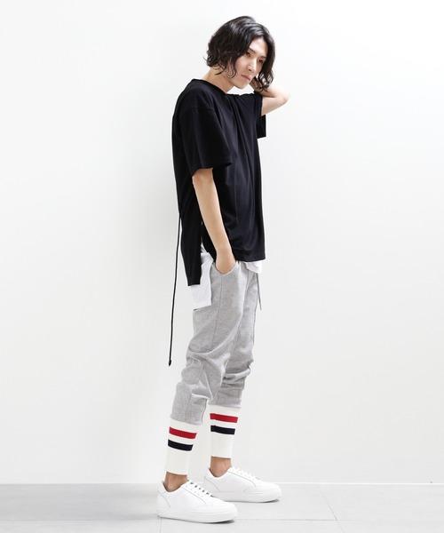 minsobi(ミンソビ)の「【minsobi】リブニット裾ジョガーパンツ(その他パンツ)」 詳細画像