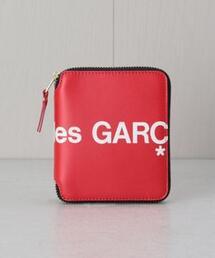 <Wallet COMME des GARCONS>FOLD ZIP LOGO/ウォレット.