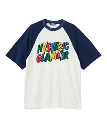 HYS HITS オーバーサイズTシャツネイビー