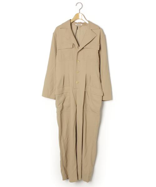 人気ブランドを 【ブランド古着 JUMPSUIT WOOL】 HARD TWIST WOOL BARATHEA JUMPSUIT (A9AT01BB)(つなぎ/オールインワン) TWIST|AURALEE(オーラリー)のファッション通販 - USED, TOAN WELD:3b431570 --- kredo24.ru