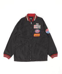 HG SPARKSアップリケ レーシングジャケット【L】ブラック