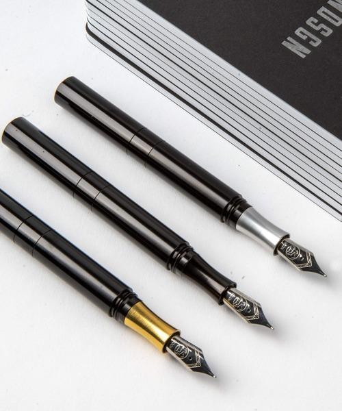 SCHONDSGN POCKETSIX ショーン·デザイン ポケットシックス (ショートポケットペン) ブラックアルミニウム
