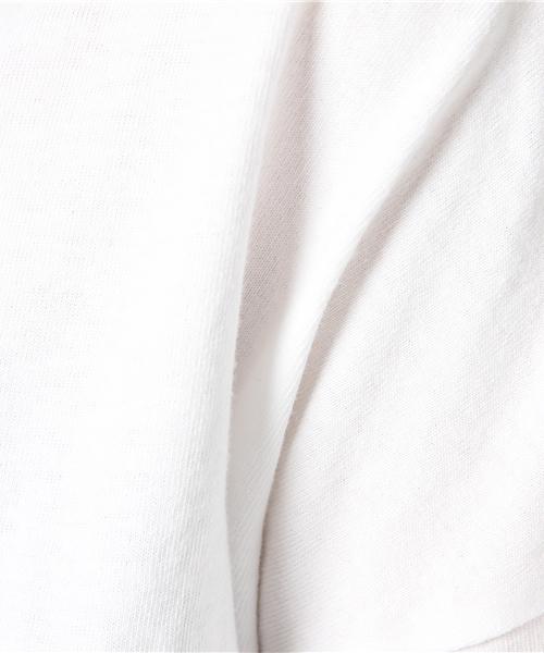so far Frilled T-shirt Over Dye / ソーファー フリルTシャツ オーバーダイ