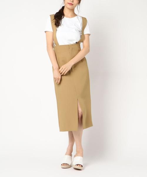 最も  【セール】サスペンダー付きロングタイトスカート(スカート) TIARA(ティアラ)のファッション通販, ラックタウン-収納用品の店-:9d95273a --- steuergraefe.de