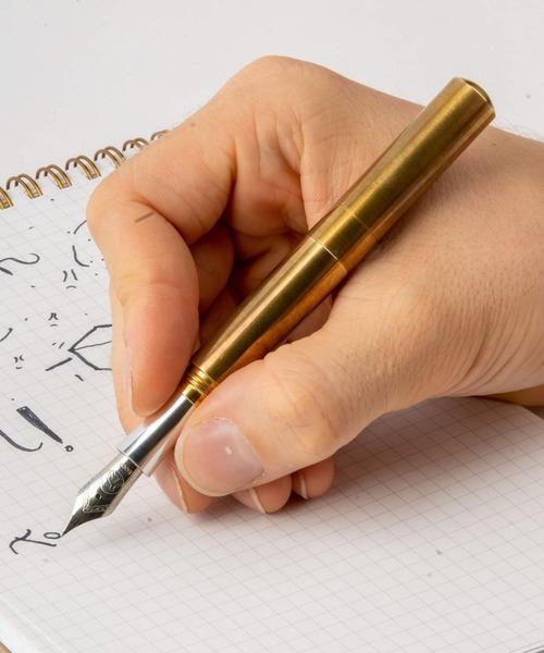 SCHONDSGN POCKETSIX ショーン·デザイン ポケットシックス (ショートポケットペン) ブラス