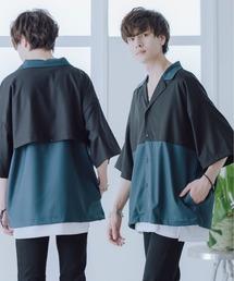 KUUUPY(クーピー)のKUUUPY - ヨーク切替オープンカラーシャツ(シャツ/ブラウス)