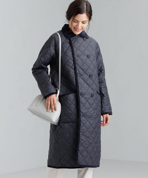 【WORK TRIP OUTFITS】[ ラベンハム ] LAVENHAM DOUBLE BREASTED COAT ダブル ブレステッド コート