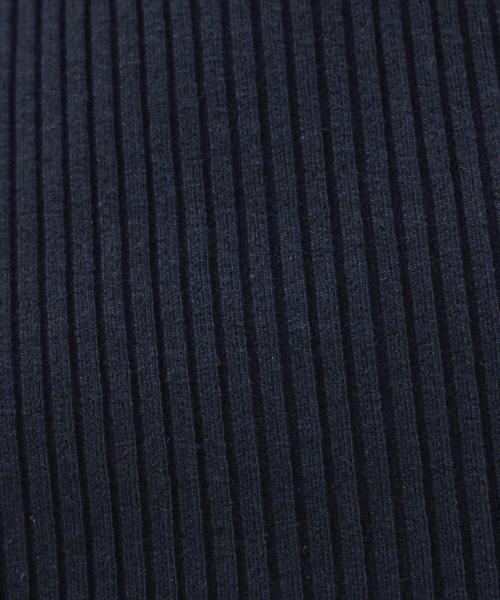 tight rib pullover(細リブVネックプルオーバー)